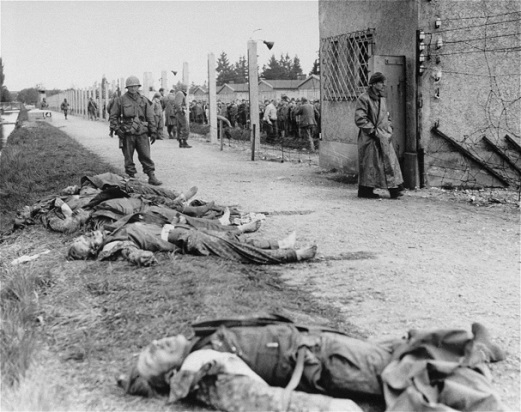 American-soldier-in-front-of-dead-SS
