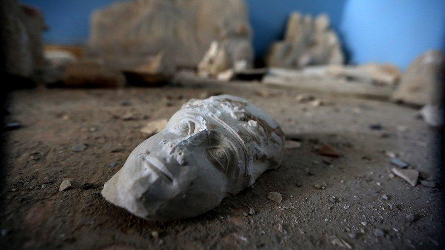 destroyed Palmyra