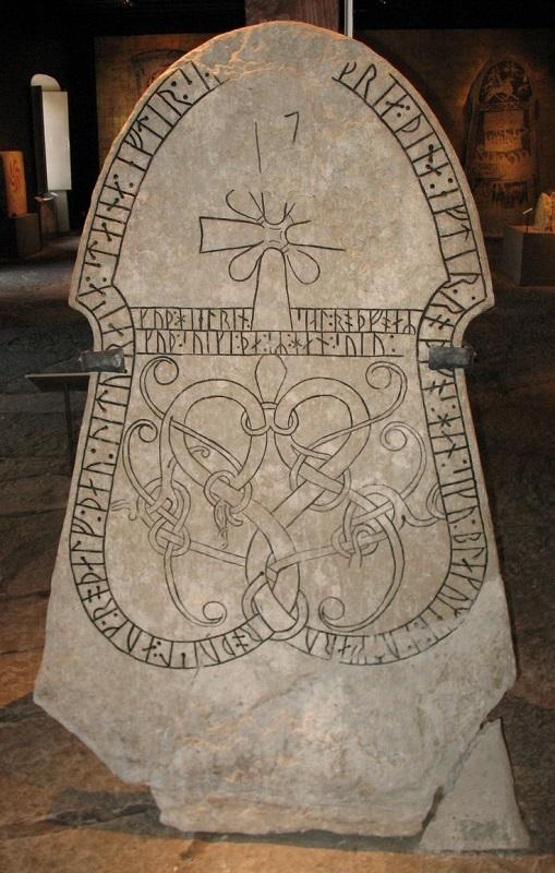 The-G134-runestone-in-Sjonhem-Gotland-Sweden.