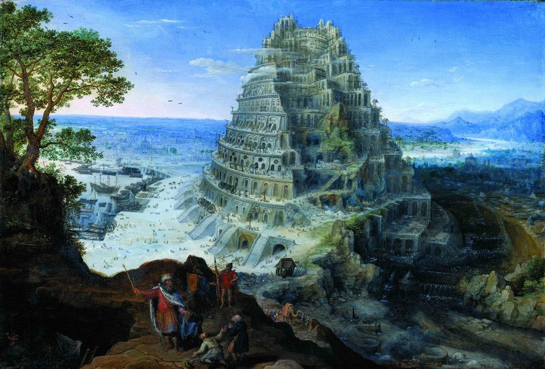 Lucas-van-Valckenborch.-The-Tower-of-Babel.-1595