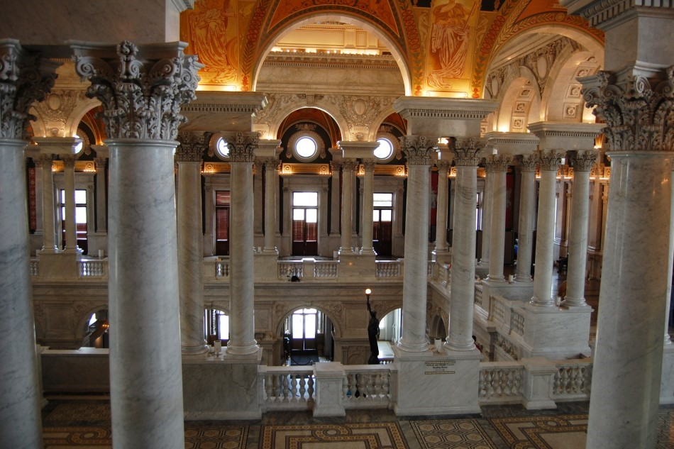 Library of Congress Great Hall (second level)