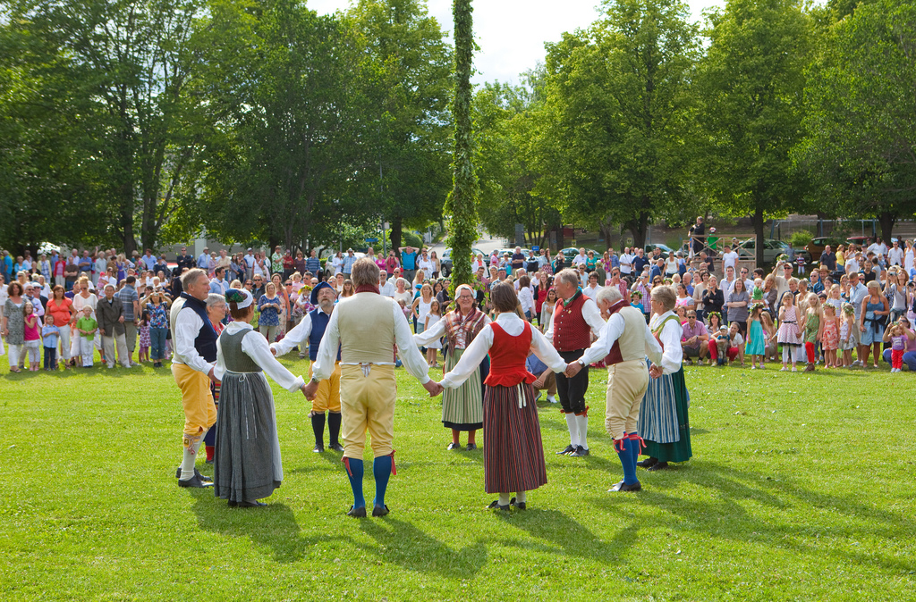 Midsummer dance ©Bengt Nyman/Flickr. Midsummer/Summer Solstice is one of 8 Ancient Pagan holidays when Earth align herself with the universe in special way favorable for spiritual works and practices.
