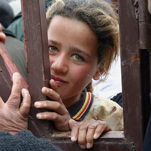 Yazidi Aryan woman