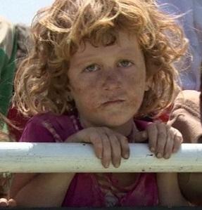 Yazidi Aryan child