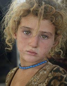 Yazidi White child